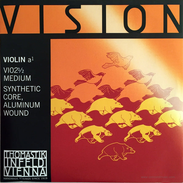 Vision Violin 1/2 Size A String