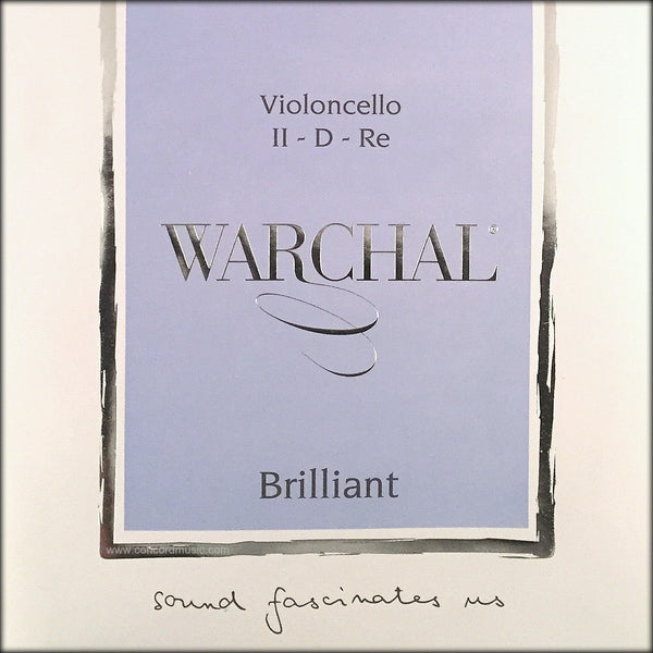 Warchal Brilliant cello D String, No. 922