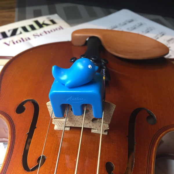 Blue Whale Practice Mute for Violin