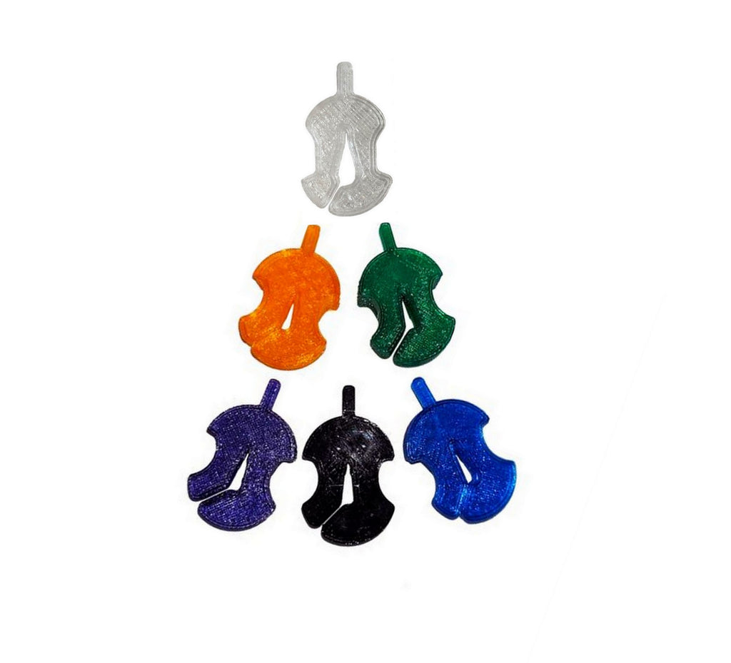 3D Sound 1 Hole cello mutes Wiessmeyer & Son 6 jewel tone colors