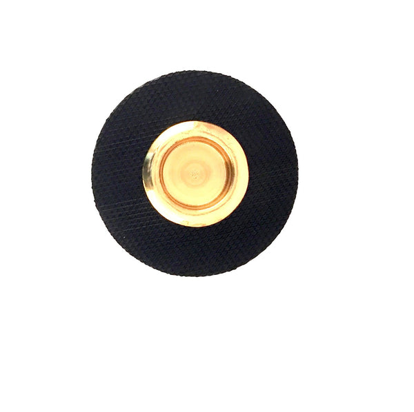 Bass Endpin Rest, Rubber & brass