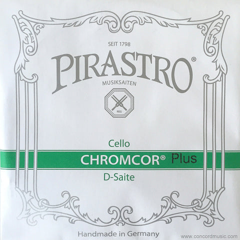 Chromcor Plus Cello D String 3398