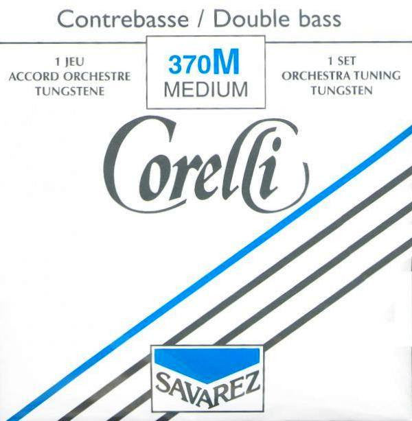 Corelli Tungsten Bass Set 370M