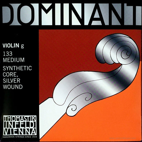 Dominant violin G String 133