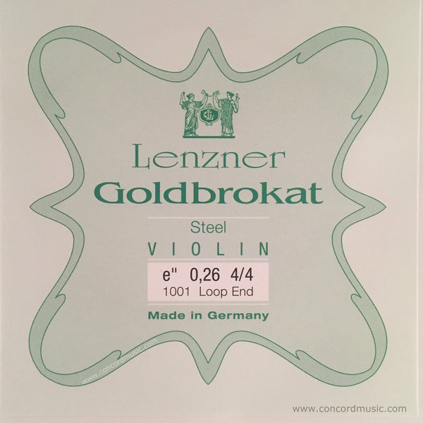 Goldbrokat Violin E String, loop end