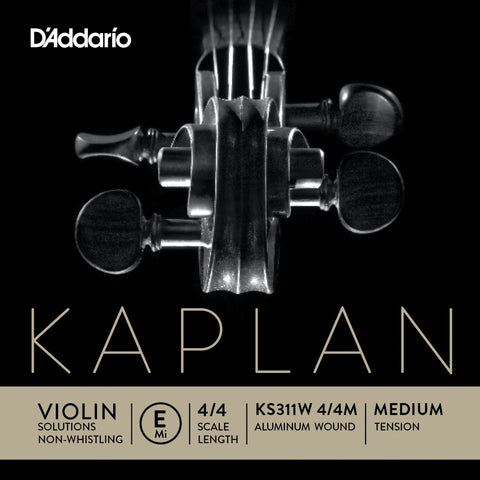 Kaplan Solutions Non-Whistling-E String
