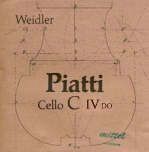 Weidler Piatti Cello C String