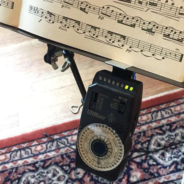 Ruzette Metronome tuner holder for music stand