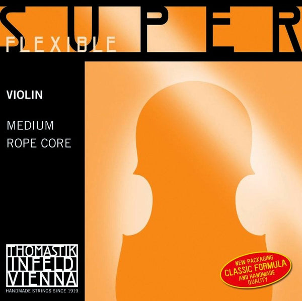 Thomastik Superflexible Violin Silver G String No. 14