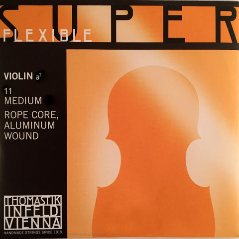 Superflexible violin A string, aluminum no. 11