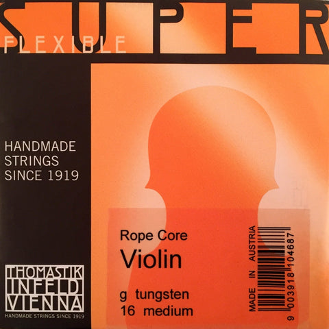 Thomastik Superflexible Violin Tungsten G String No. 16
