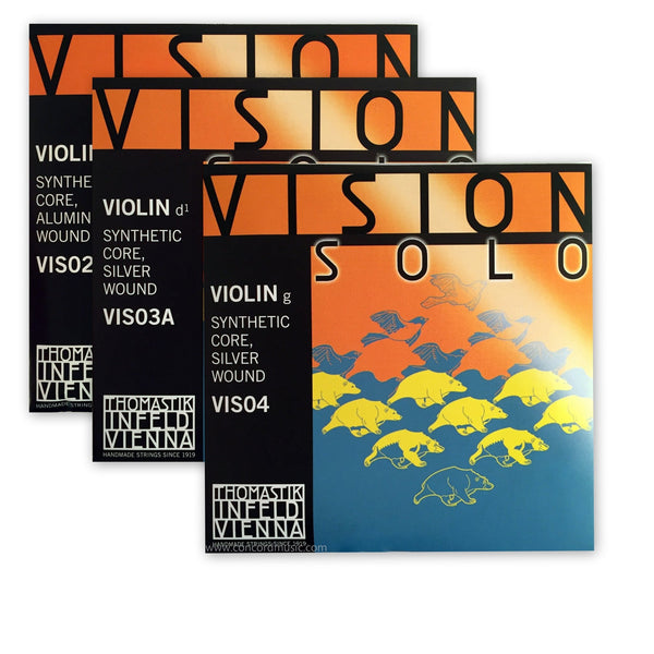 Vision Solo Violin Custom Set