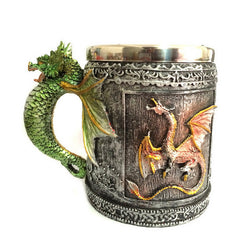 Royal Dragon Double Wall Stainless Steel Mug