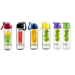 800ml Cycling Fruit-Infusing Water Bottle BPA-Free