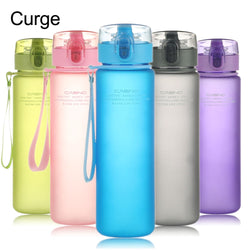 BPA-Free Leak-Proof Sports Water Bottle - 560ml-18.9 oz