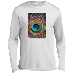 Eye of the Peacock—Long Sleeve Moisture Absorbing Shirt