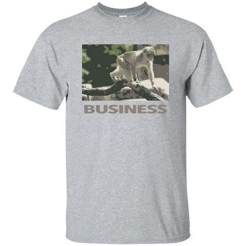 Monkey business cotton tee