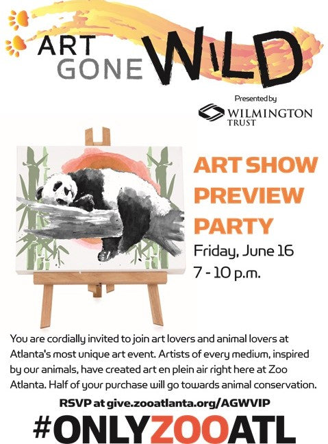 Art Gone Wild @Zoo Atlanta 2018