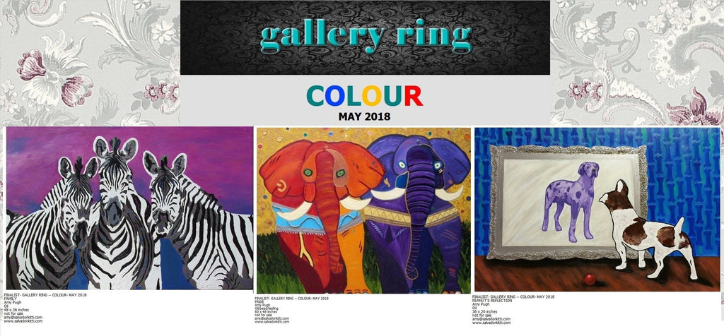 Finalist Paintings in Gallery Ring's International Competition