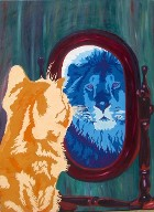 Salvador's Reflection was the Cover Art for the American Journal of Veterinary Medicine