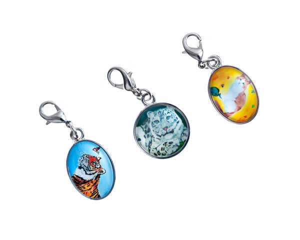 Cat Charms - Set of Three