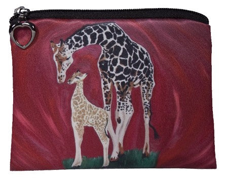 giraffe change purse