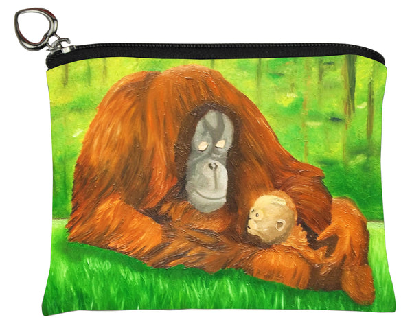 Orangutan coin purse