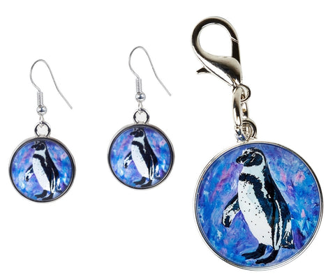 penguin Jewelry Set