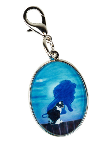 Tuxedo Cat Bag Charm- Antoine's Shadow