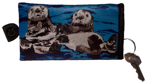 sea otter key case