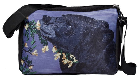 black bear messenger bag
