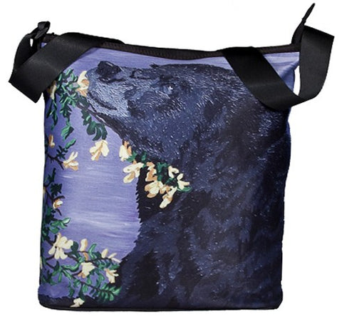 black bear small cross body bag