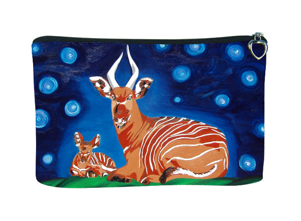 animal bongo make-up bag