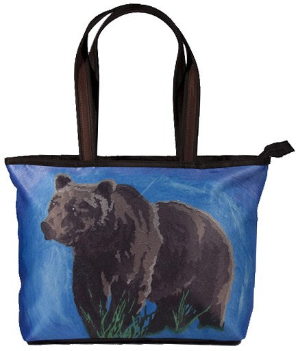 Grizzly Bear shoulder bag