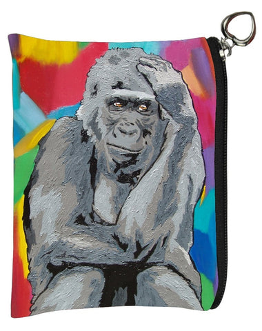 Gorilla coin purse