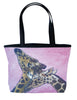 giraffe tote bag and matching coin purse