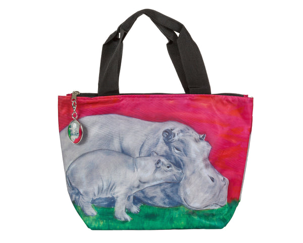 hippo lunch bag