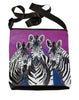 zebra large cross body bag