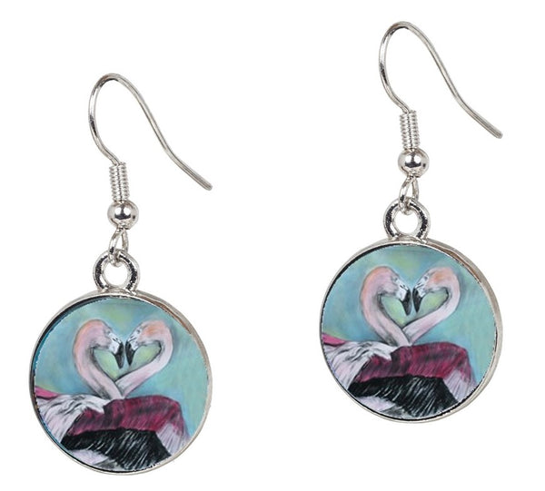 Flamingo Earrings - Synchronous Nesting