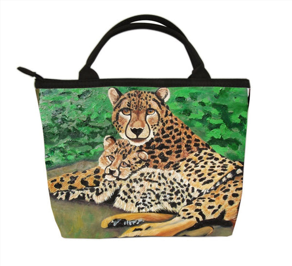 cheetah handbag