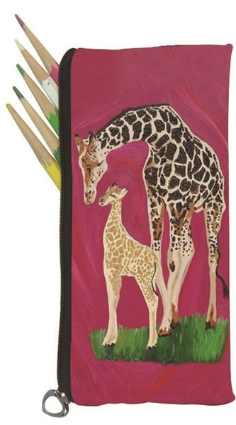 giraffe pencil bag