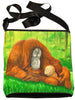 Orangutan cross body bag