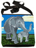 asian elephant cross body bag large