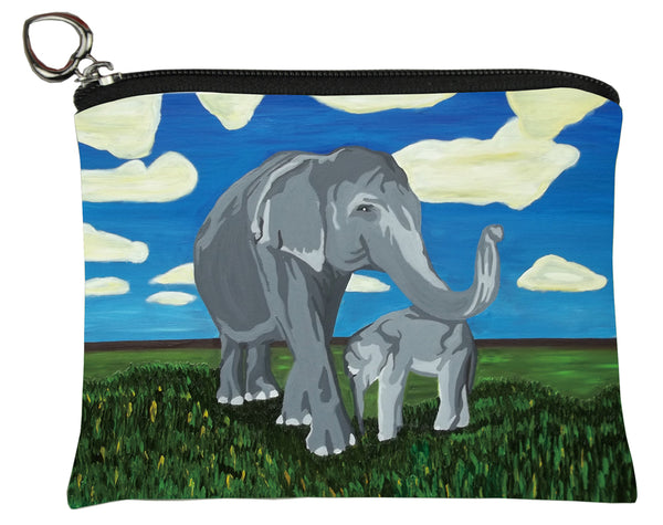 asian elephants change purse