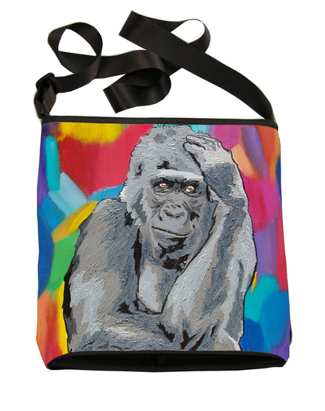 Gorilla large cross body bag