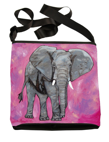 african elephant large cross body bag