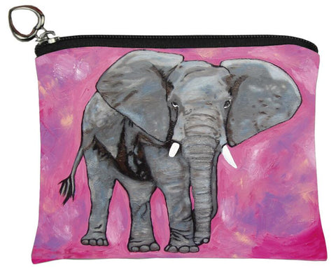 african elephant coin purse