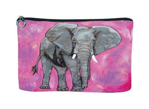 elephant make-up bag