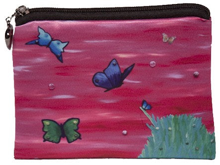 Butterflies coin purse