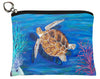 loggerhead sea turtle change purse